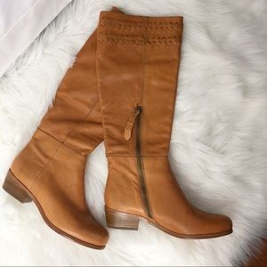 Joie Tall Riding Boots Tan Women's Size 6